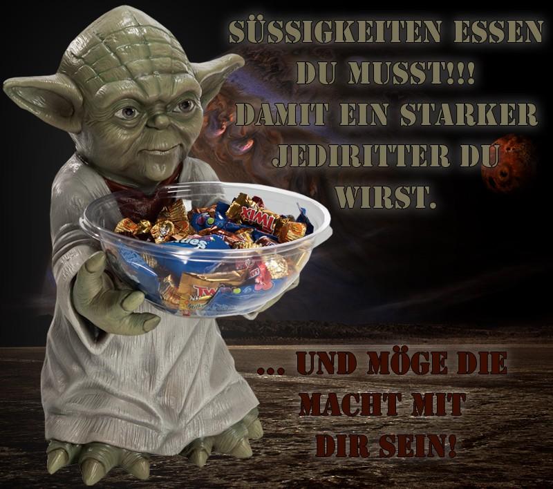 Yoda Sussigkeitenhalter Mit Schale Geburtstagsgeschenk