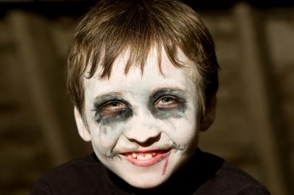 Kinder Schminken Fur Fasching Halloween Und Mottoparty