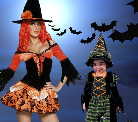 Ohne Angst als Hexe Halloween erleben