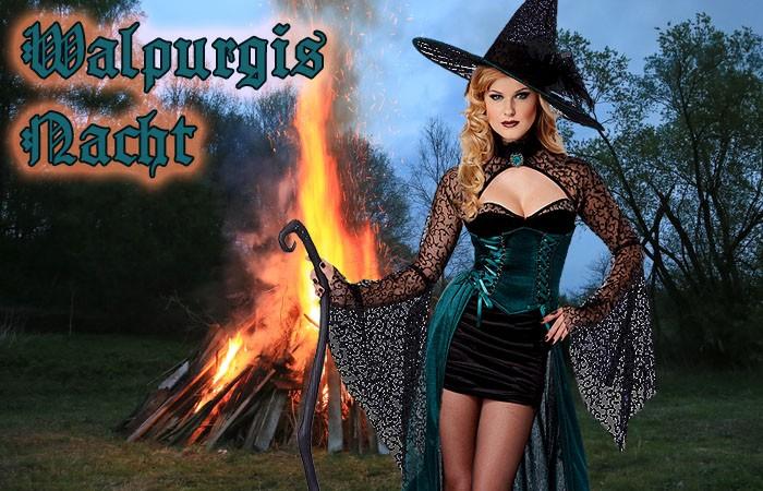 Wenn Hexen hexen: Mottoparty Walpurgisnacht