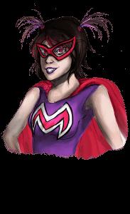 Tochter-Superheldin