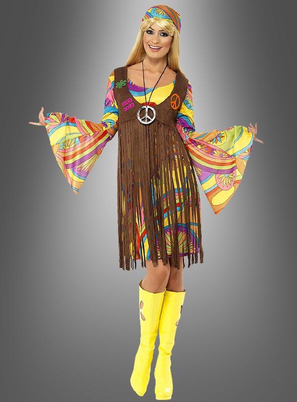 Flower Power Frauen Look Feel Like A Hippie Kostumpalast Blog