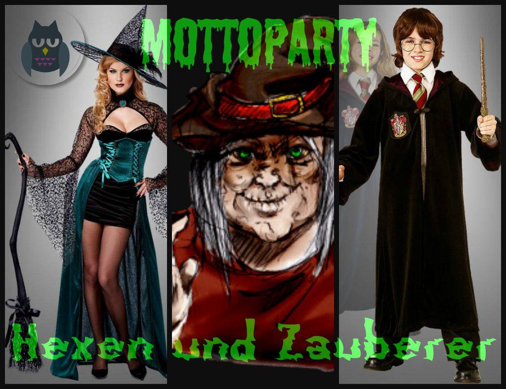 Die 10 Besten Mottoparty Ideen 5 Hexen Und Zauberer Kostumpalast