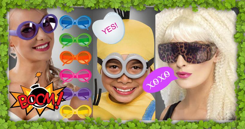 Die besten Accessoires für Karneval und Mottoparty: Brillen