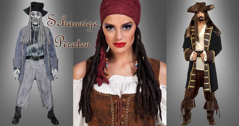 Freibeuter und Piraten Ahoi! Piraten Kostüme für Holzbeinträger