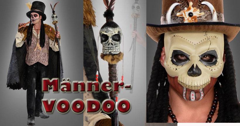 Voodoo – die männliche Seite des Halloween Kultes