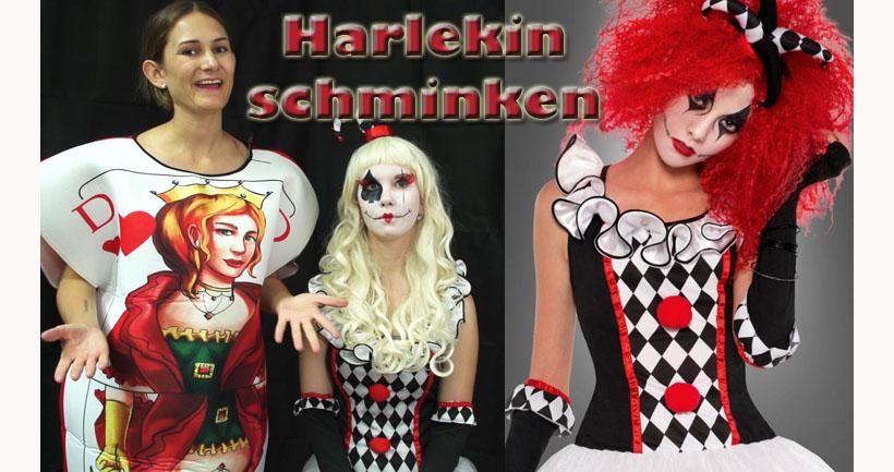 """""""Eccomi!"""" Der wahre Ursprung des Harlekin"""