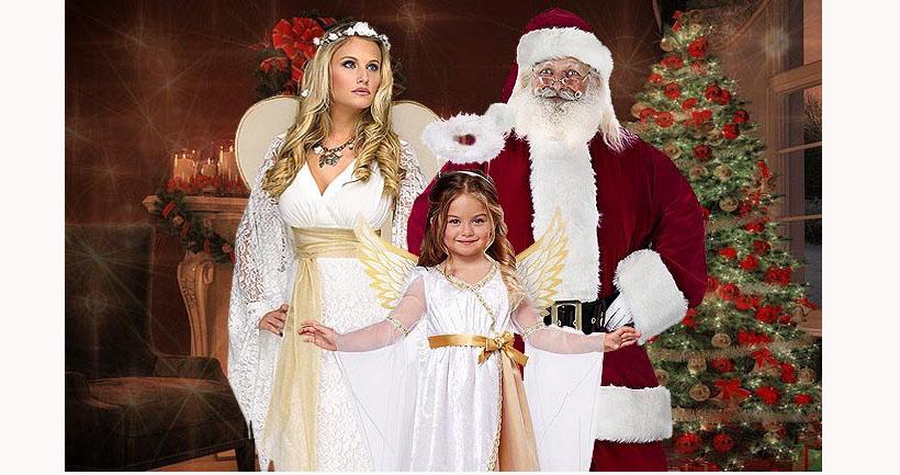 Das passende Weihnachtsmann Kostüm finden