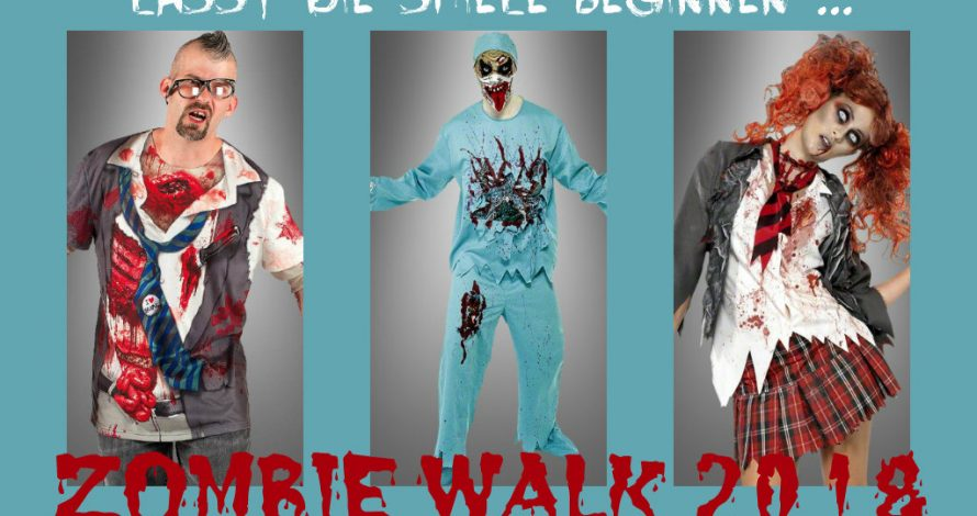 Zombie Walk 2018 – BRAAAAIIIINNS!
