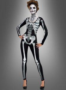 Skelett anzug