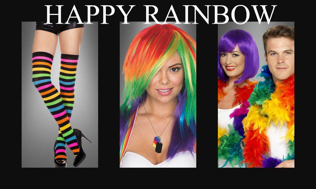 Jetzt Wird S Bunt Die Besten Regenbogen Kostume Accessoires