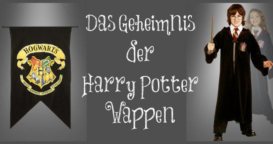 Harry Potter Wappen und das Geheimnis der Halloweens