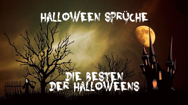 Halloween Sprüche – die besten der Halloweens
