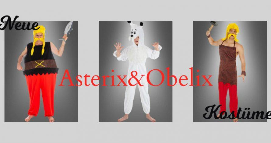 Für die Firmenfeier: Asterix und Obelix Kostüme
