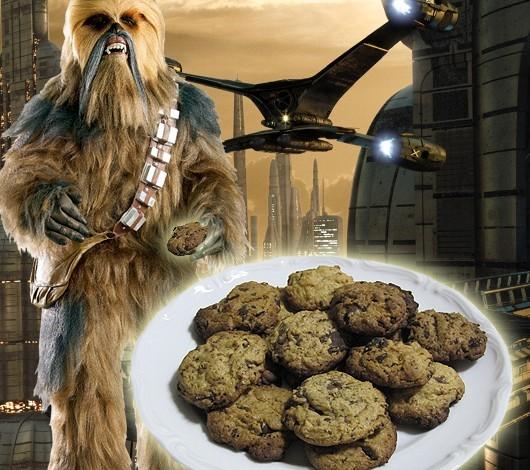 Star Wars Weihnachtsbäckerei mit Wookiee Cookies
