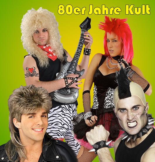 Kultgruppen der 80er