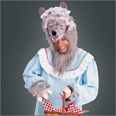 Märchen Böser Wolf Kostüm