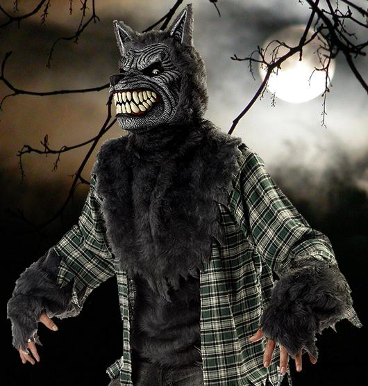 Gruselige Werwolf-Kostüme sind zu Halloween immer wieder sehr beliebt.