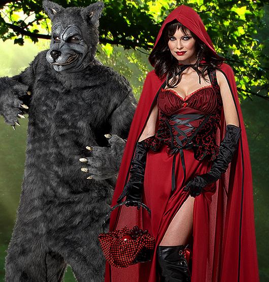 Böses Rotkäppchen Kostüm