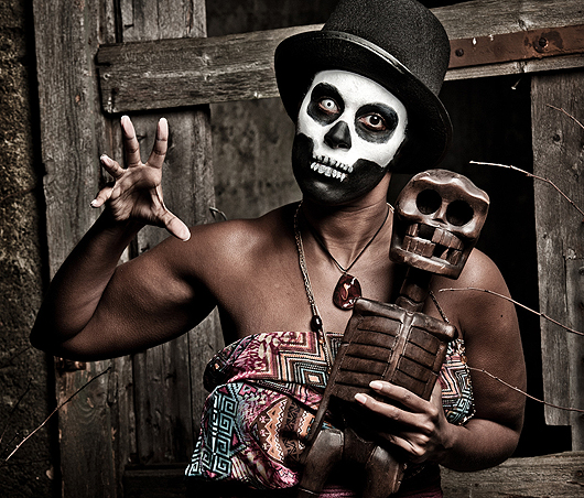Zombie und Voodoo Kultur