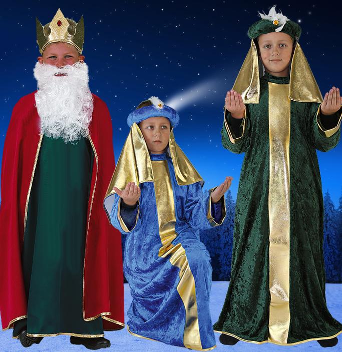 Heilige Drei Könige Kostüm
