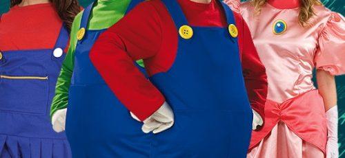 2013-12-Mario-Bros-Luigi-Peach-Karnevalskostueme