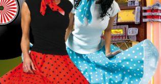 50er-Jahre-Petticoat-Mottoparty-Kostueme