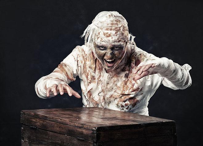 mumie-kostüm-selber-machen