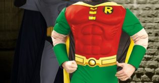 Robin-Batman-Superhelden-Kostueme