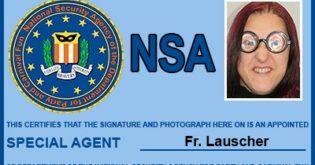NSA-Ausweis-Kostümzubehör