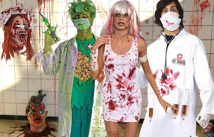 Horrorparty im Krankenhaus