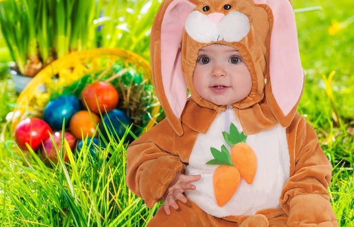 Baby Foto Shooting zu Ostern