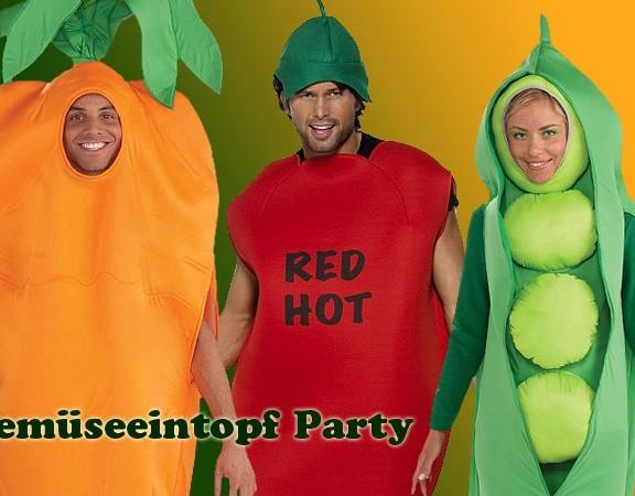 Mottoparty Gemüse