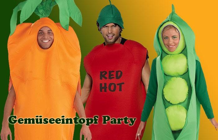 Mottoparty Gemüse am Gründonnerstag