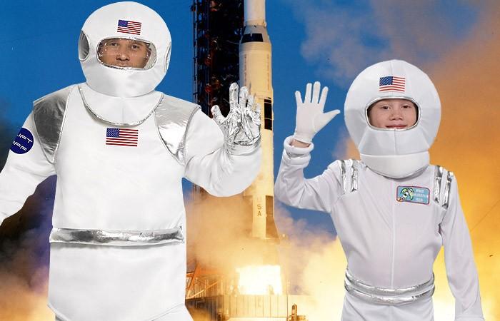 Spacige Mottoparty zum Gedenken der Apollo 13