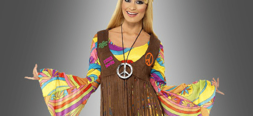 halloween-hippiekostuem