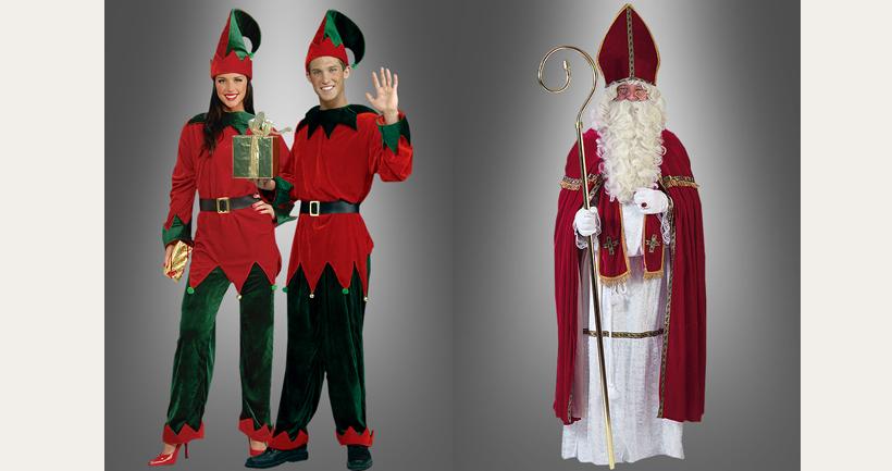Wer trägt bei den Halloweens das Nikolaus Kostüm?