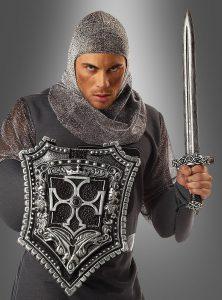 Kreuzritter Schwert und Schild