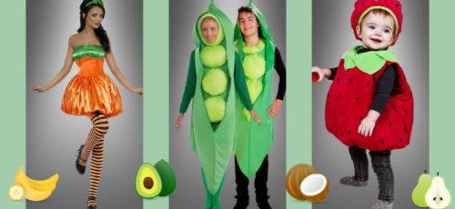 Verkleiden als Obst und Gemüse