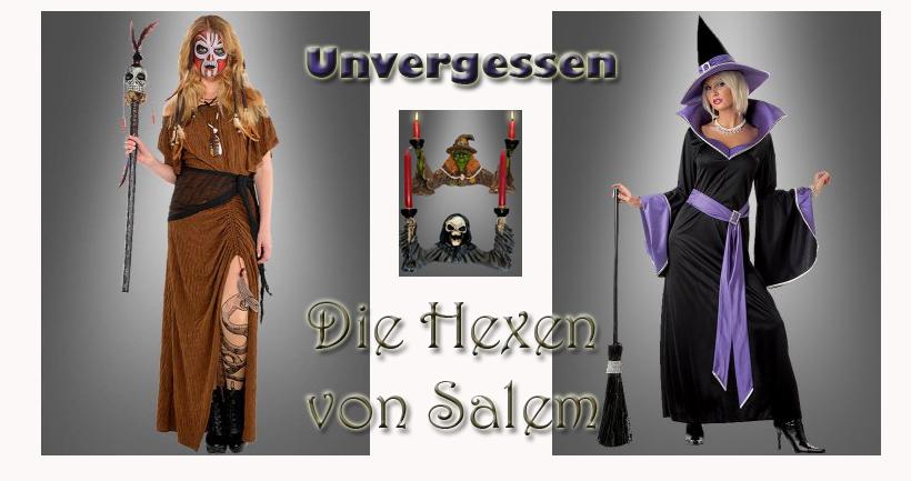 Die Hexen von Salem, oder: Sarah Sanderson