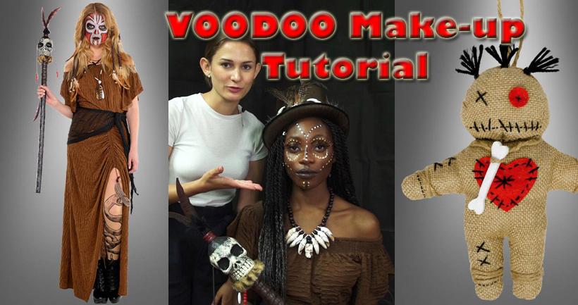 DER Halloween Trend - Voodoo Kostüme und Schminke für Damen