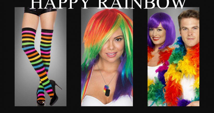 Jetzt wird´s bunt! Die besten Regenbogen Kostüme & Accessoires