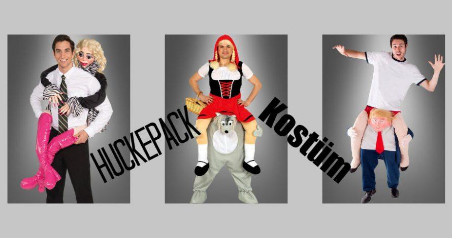 Huckepack Kostüm – der tolle Trend für Fasching und Karneval