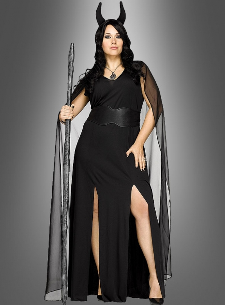 dunkle fee Kostüm