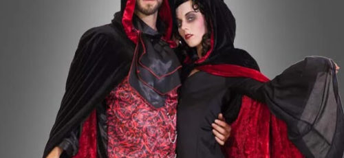 """Das perfekte Gruselkostüm für eure Vampir-Mottoparty findet ihr hier in der Kategorie """"Gothic & Vampire""""."""