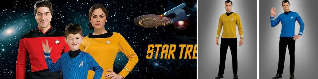 Star Trek Kostüme – verkleinden als die Raumschiffhelden unserer Kindheit.